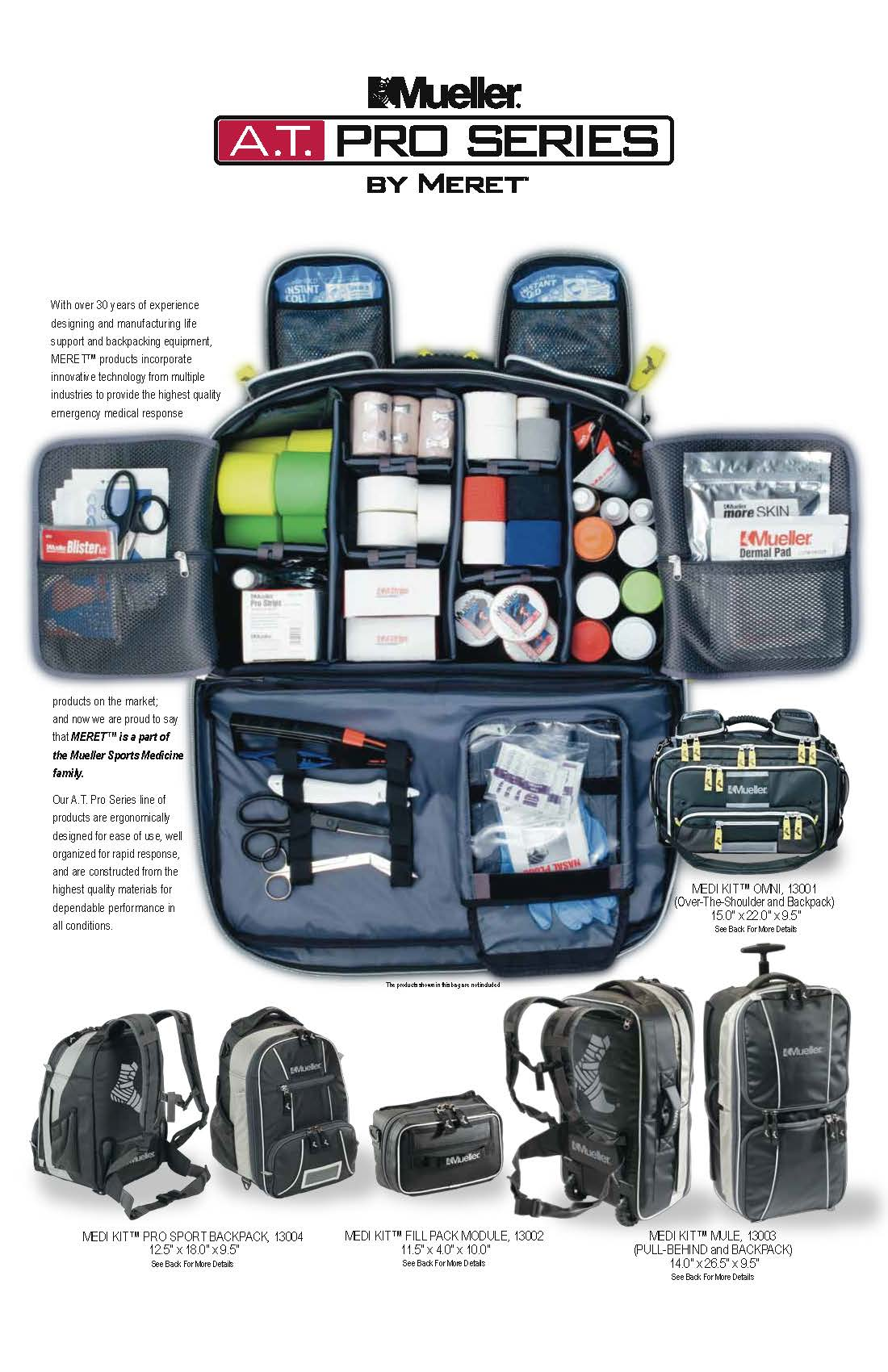 Mueller AT Pro Series Athletic Trainer Bag
