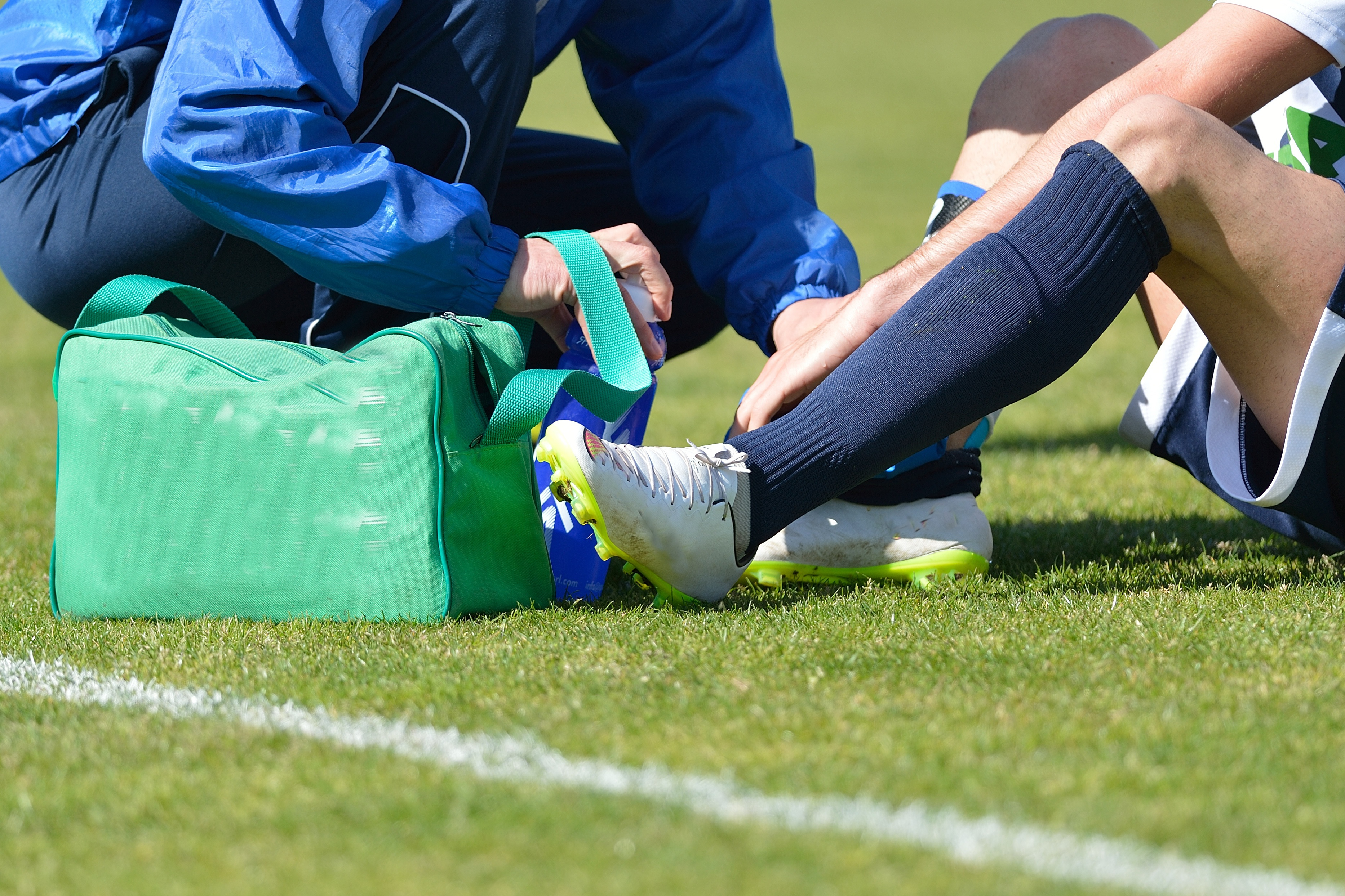 How to recuperate from an ankle injury