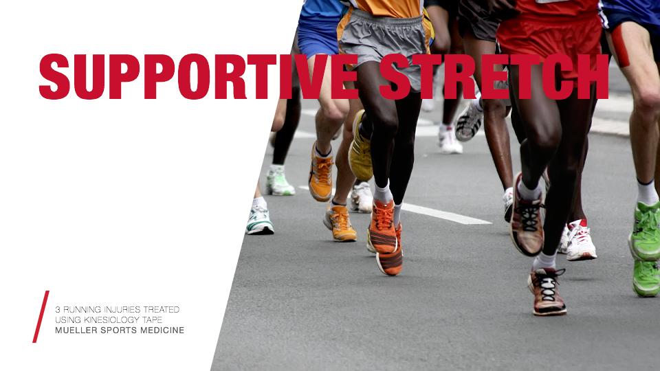3 Running Injuries Treated Using Kinesiology Tape / Mueller Sports Medicine
