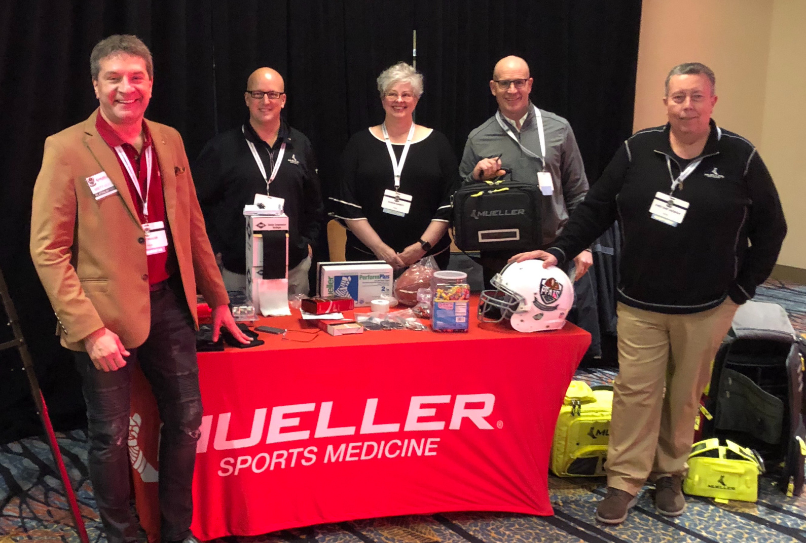 Mueller Sports Medicine Recognized as a Platinum Partner for the Professional Football Athletic Trainers Society