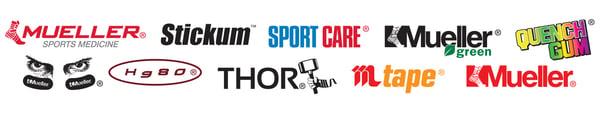 Mueller Sports Medicine Brand Logos