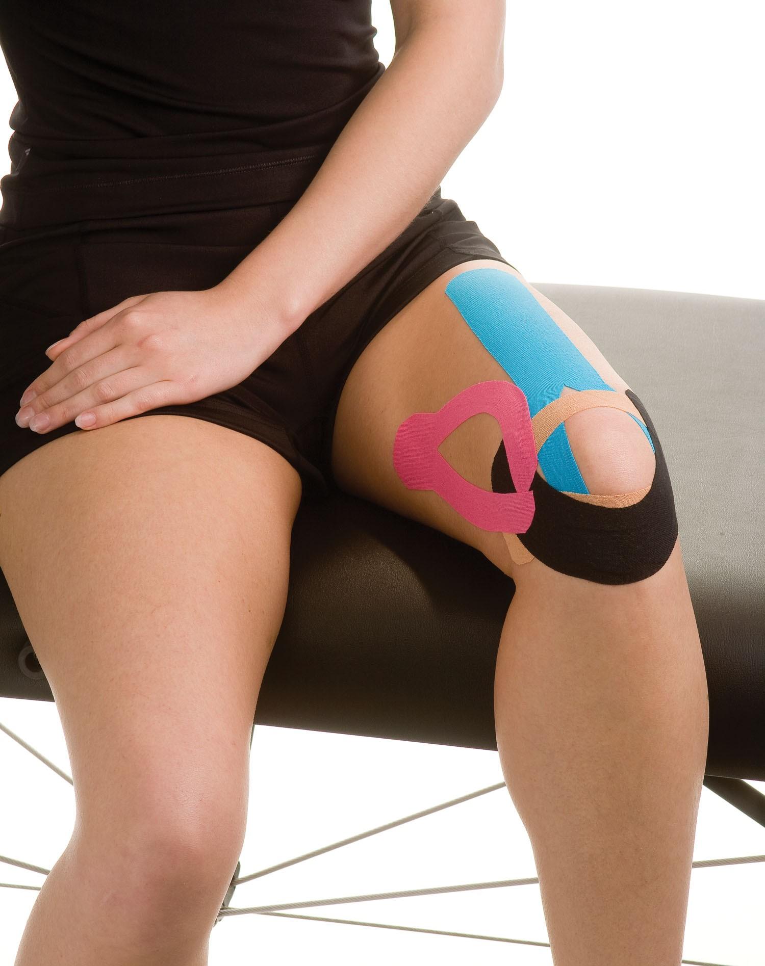 Kinesiology_Tape Runner's Knee   Mueller Sports Medicine