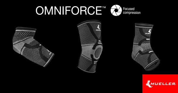 OMNIFORCE collection delivers next-level compression and support for your knees, ankles, and elbows