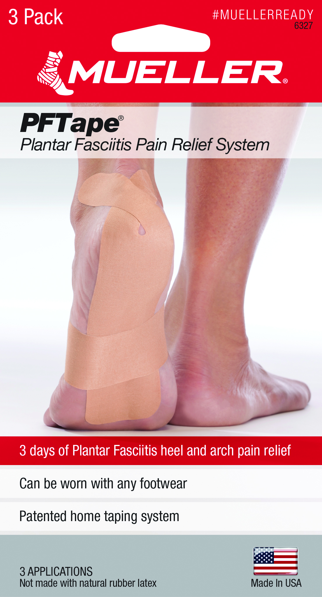 PFTape® Plantar Fasciitis Pain Relief System by Mueller Sports Medicine