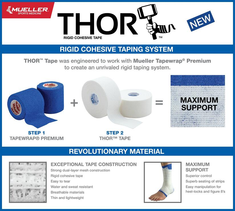 Thor Rigid Cohesive Tape