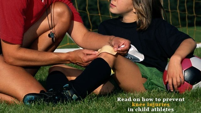 3 ways to prevent knee injuries in child athletes