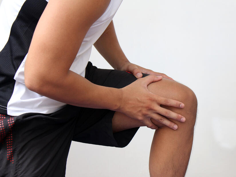 treating knee injuries and getting back in the game