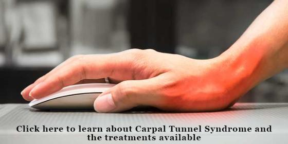 Facts about Carpal Tunnel Syndrome and the treatments available